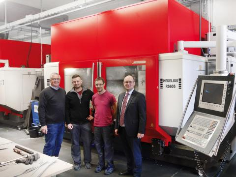 From sheet metal manufacturer to technology provider – diversification ensures success