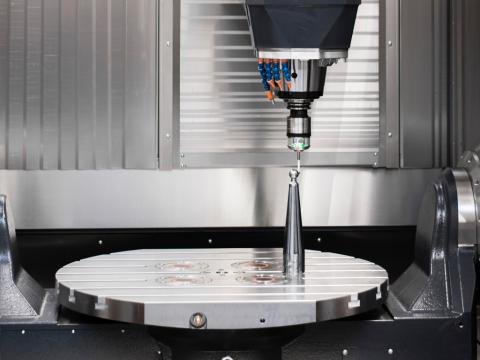 Automatic workpiece measuring with 3D probe